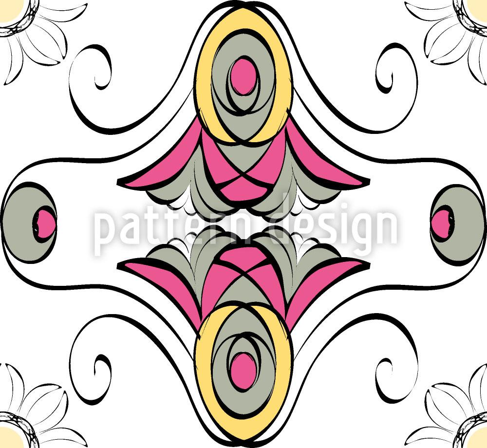 Designtapete Stilblüten
