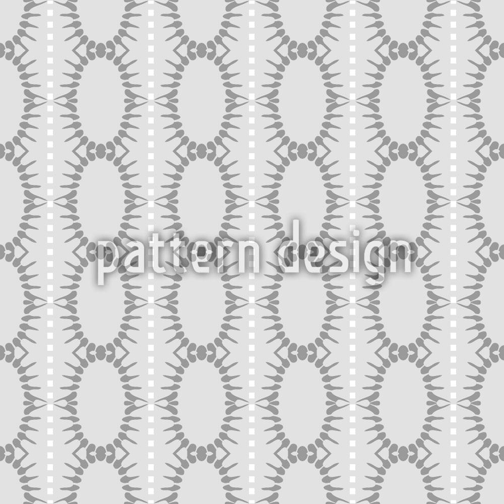 Designtapete Ovale In Streifen