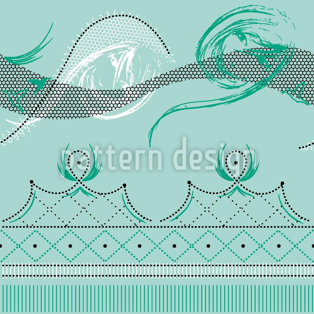 Designtapete Moulin Vert