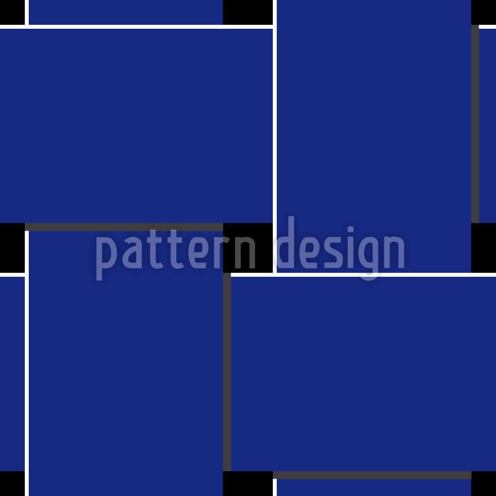 Designtapete Blaue Webung