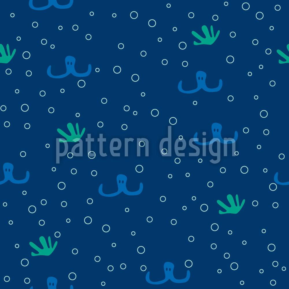 Designtapete Octopussy