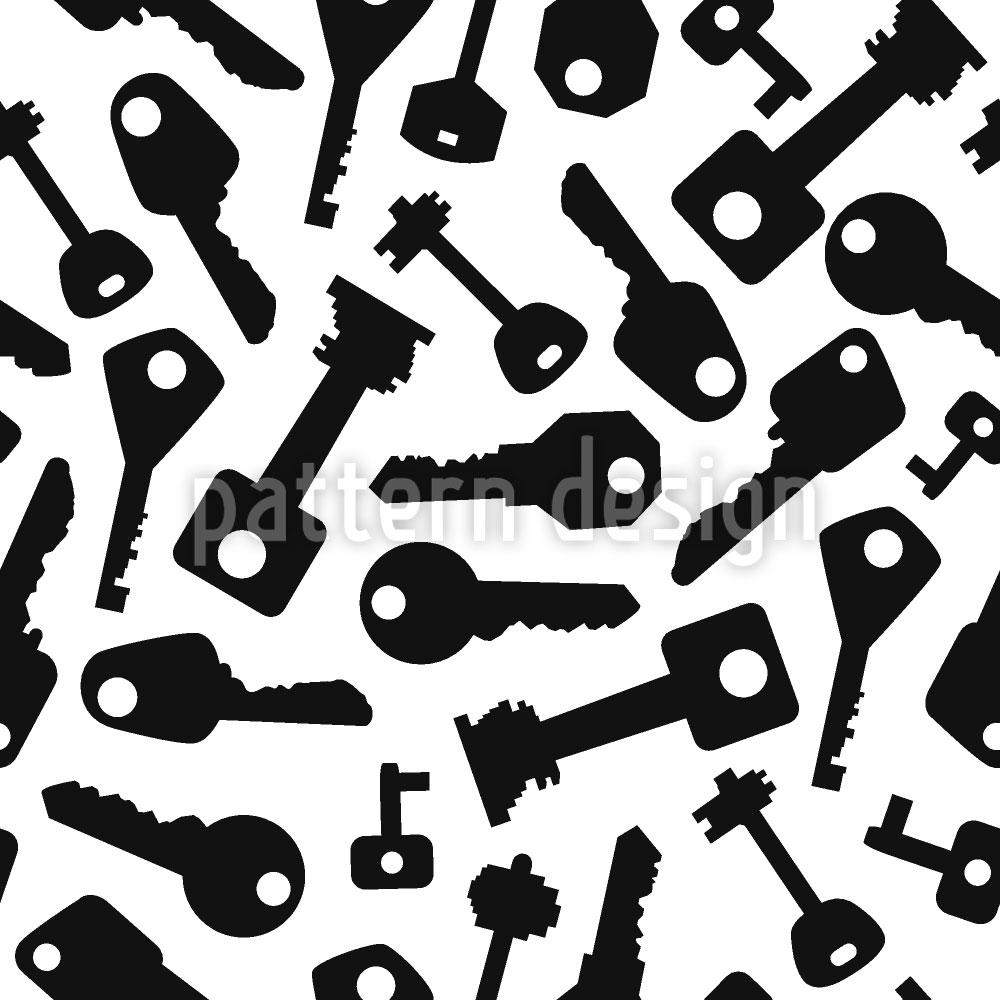 Designtapete Folsom Prison Keys
