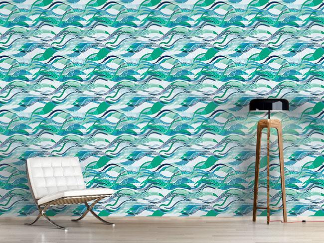 Designtapete Meerjungfrauen Träumen