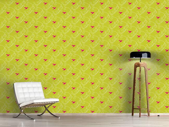 Designtapete Kolibri