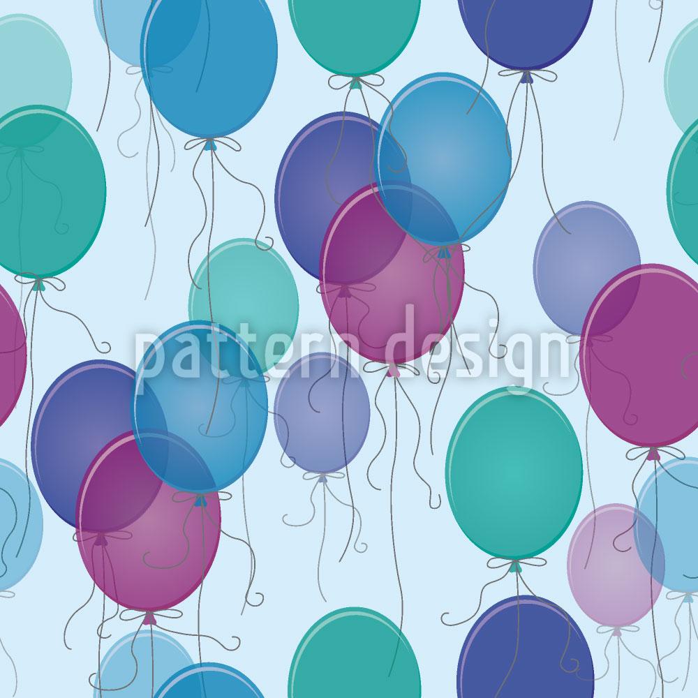 Designtapete 99 Luftballons