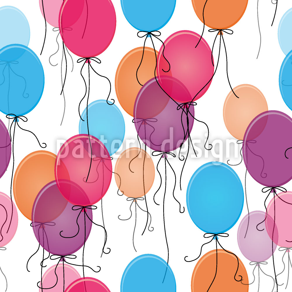 Designtapete Tausend Ballons
