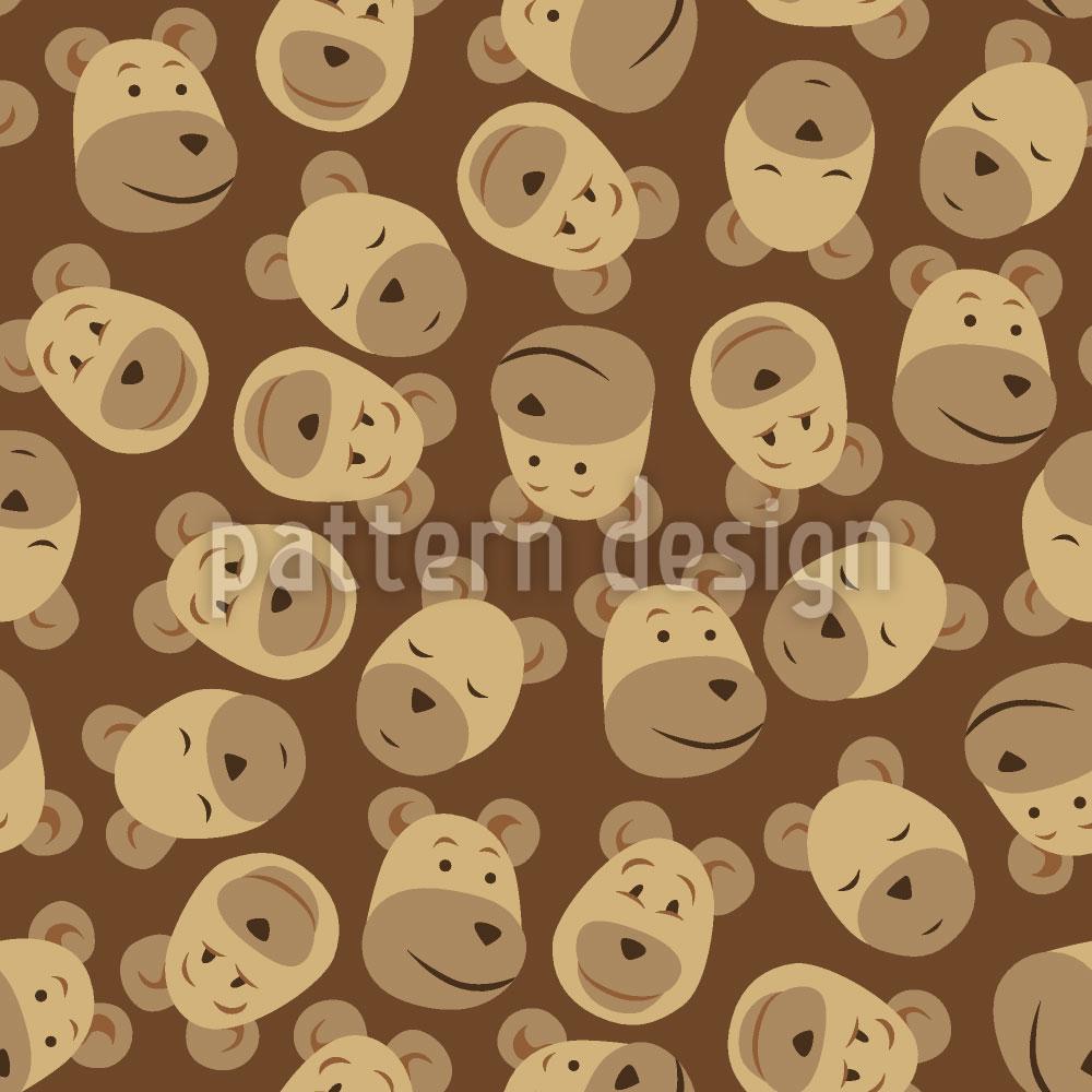 Designtapete Mister Bear