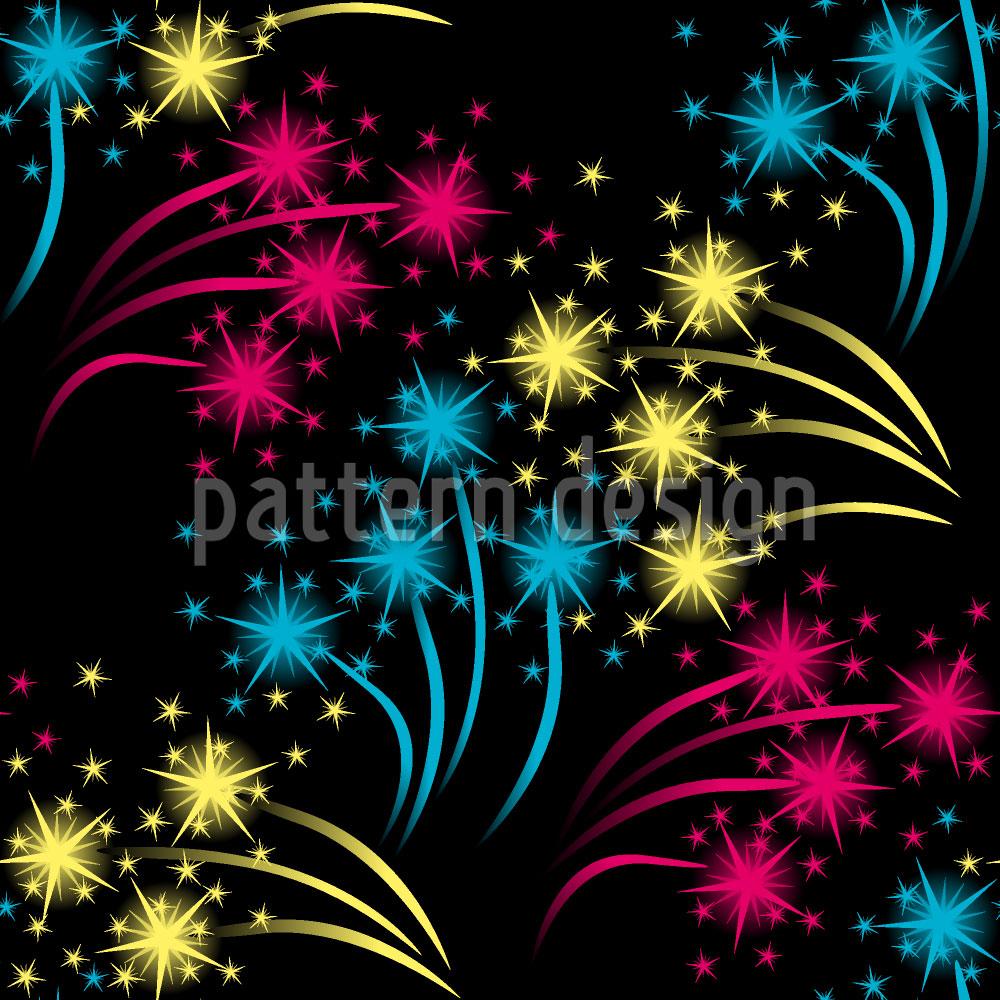 Designtapete Feuerwerk