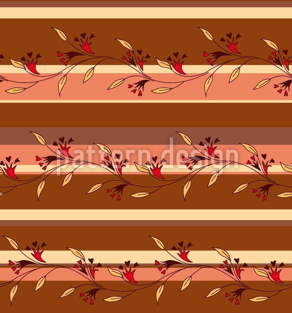 Designtapete Herbststreif