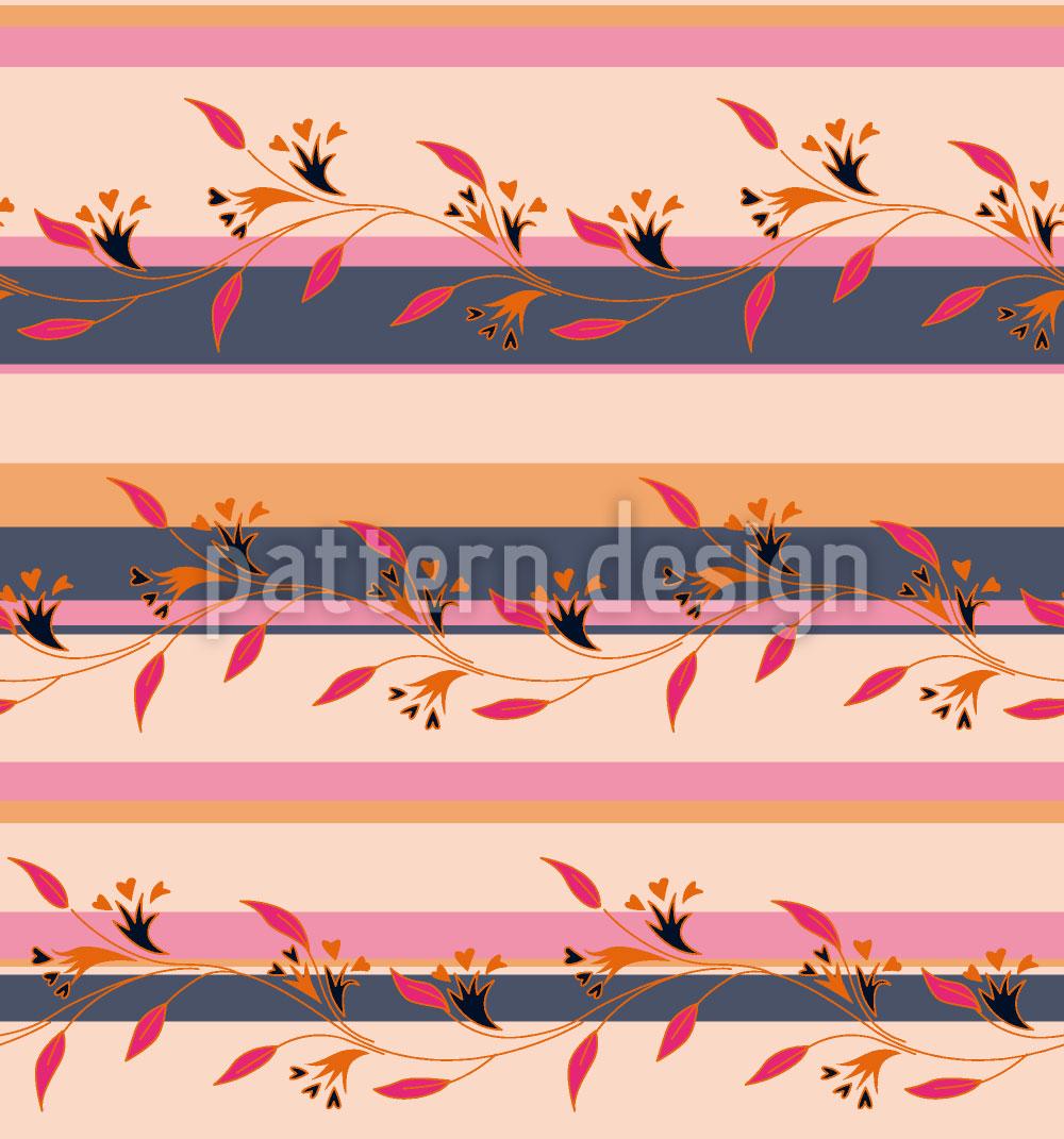 Designtapete Ines Pink