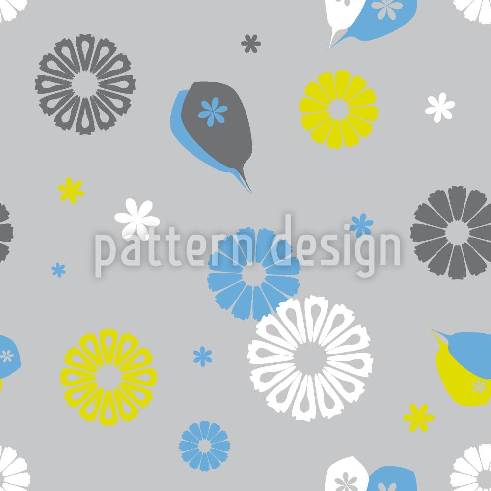 Designtapete Flowerpower Stilisimo