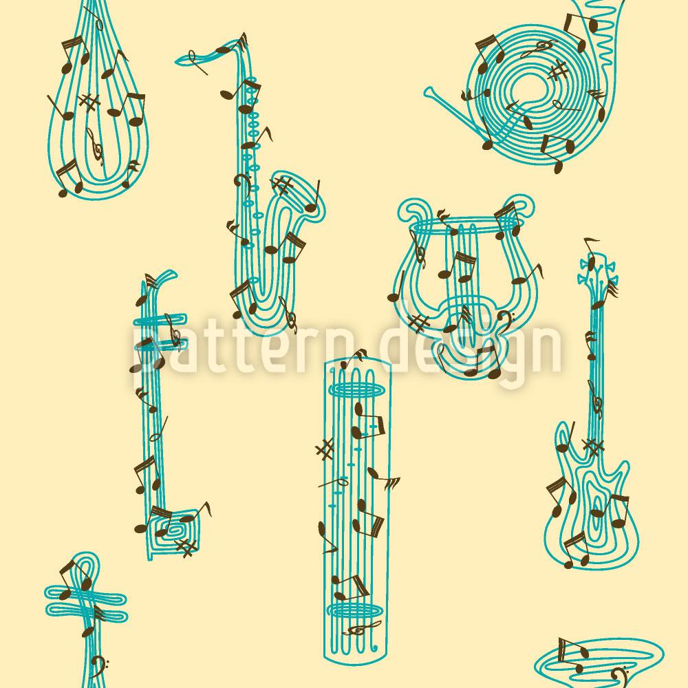 Designtapete Musik