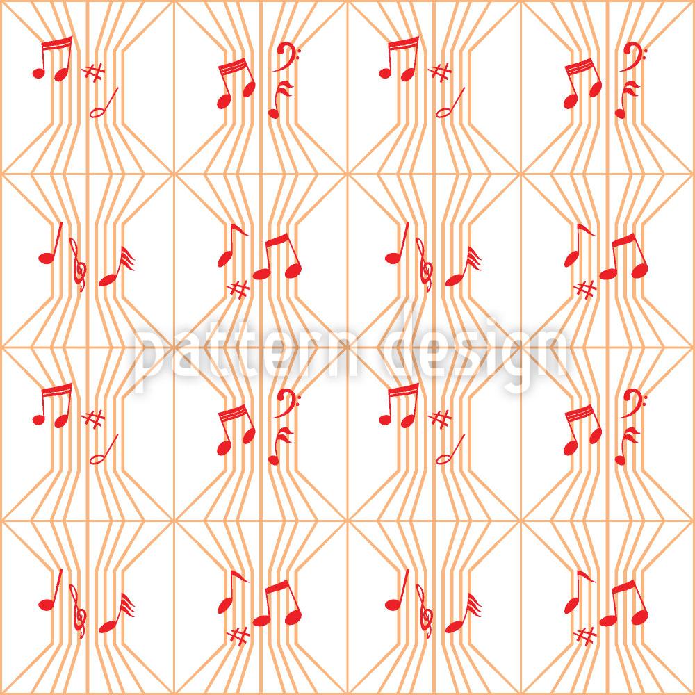 Designtapete Ars Musica