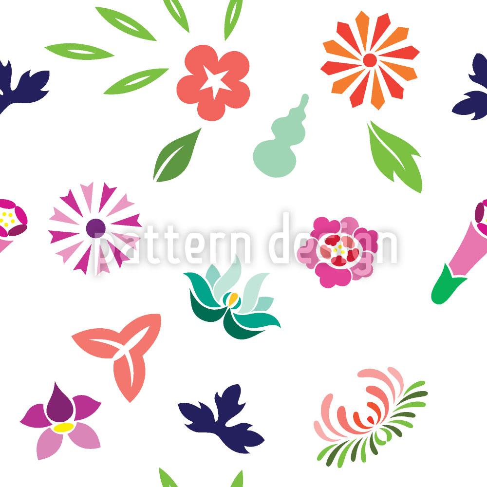 Designtapete Japanischer Frühling