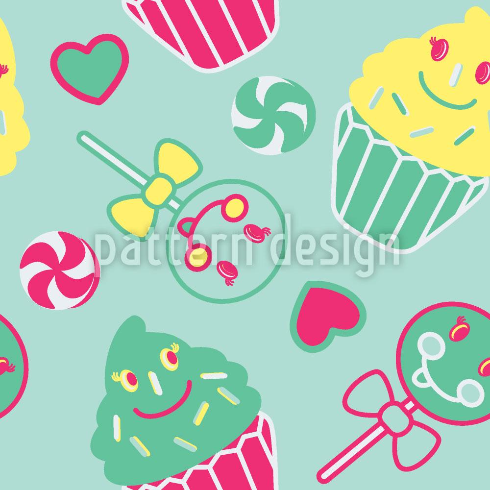 Designtapete Happy Desserts Mint