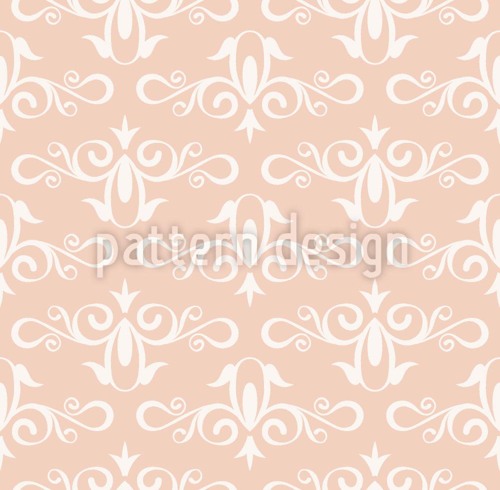 Designtapete Aschenputtel Rosa