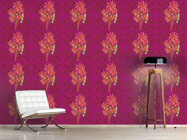 Designtapete Fantasia Floral