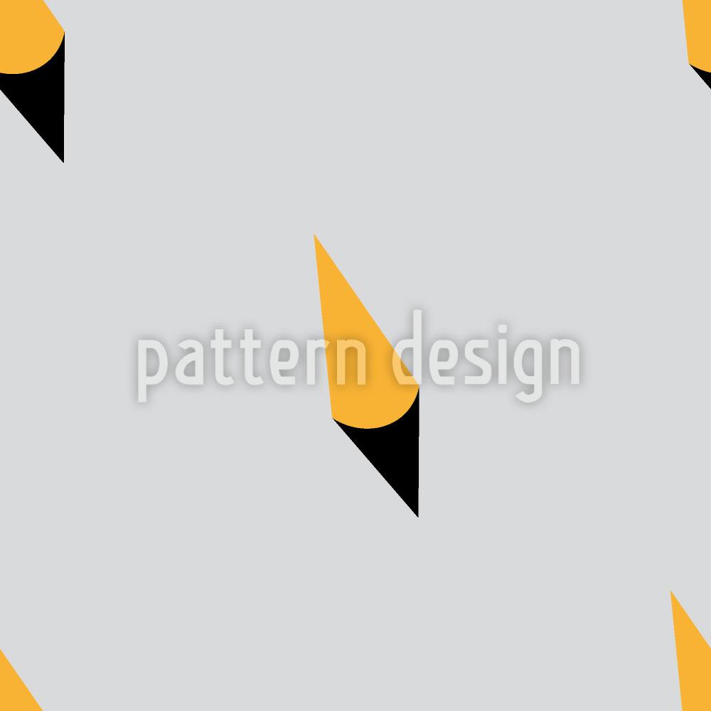 Designtapete Hütchenspiel