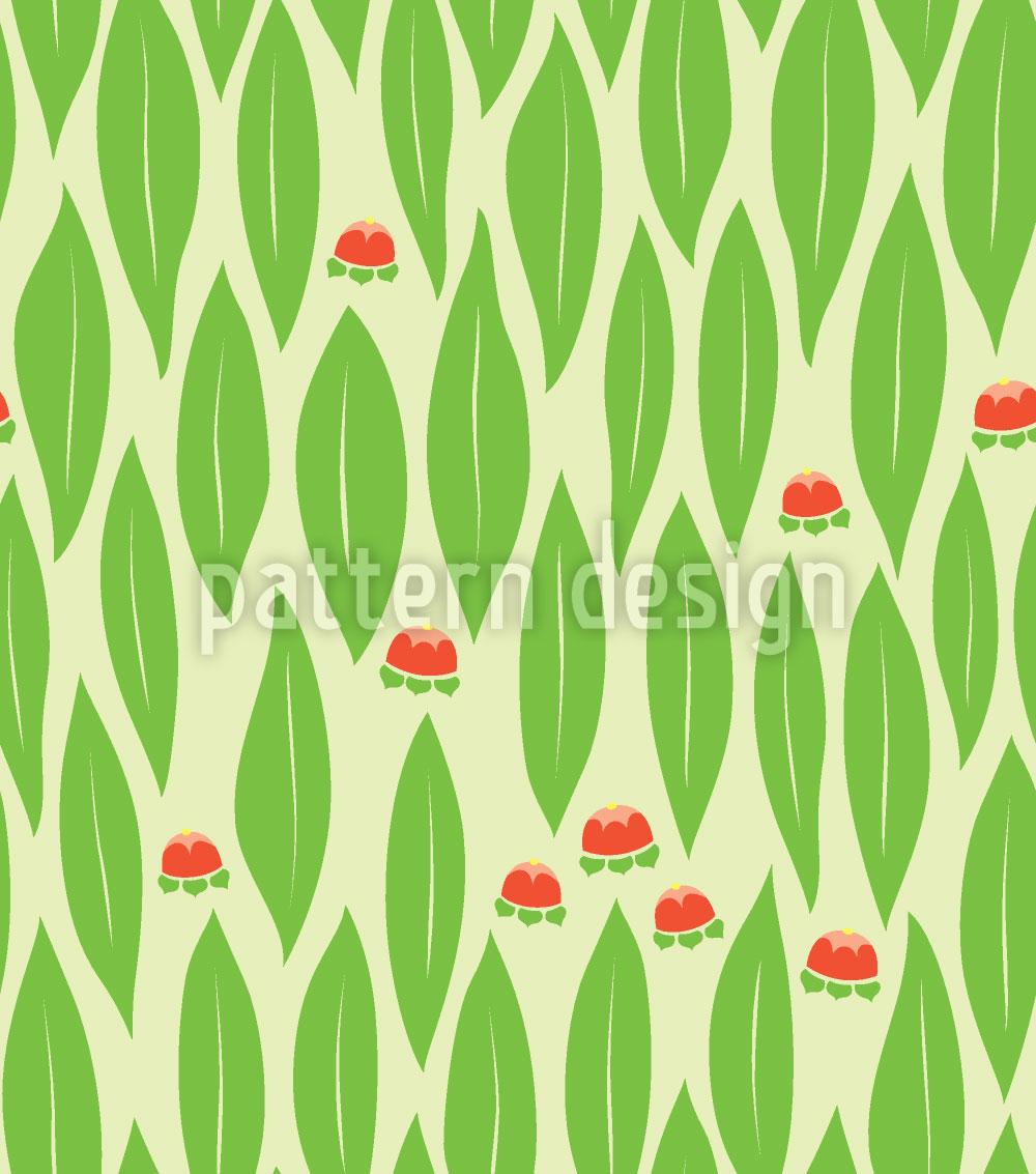 Designtapete Auszeit In Grün