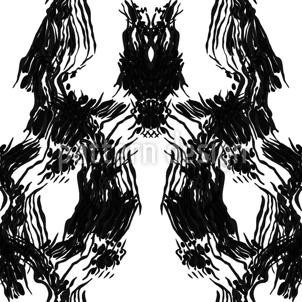 Designtapete Die Lady Trägt Schwarz