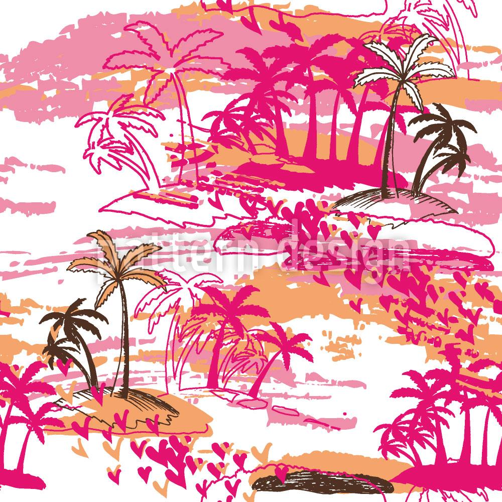 Designtapete Tropisches Paradies
