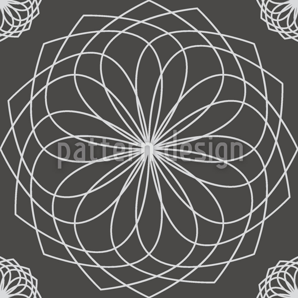 Designtapete Spirella Flor