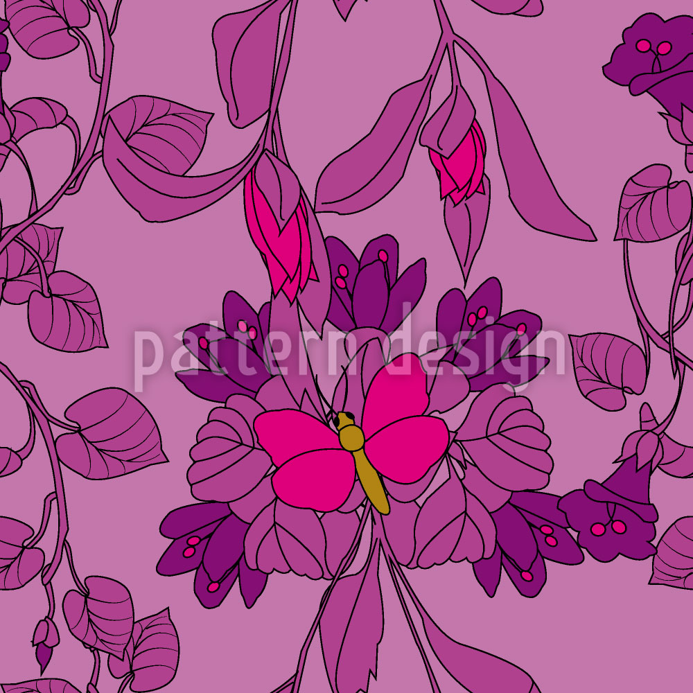 Designtapete Das Schmetterlingshaus