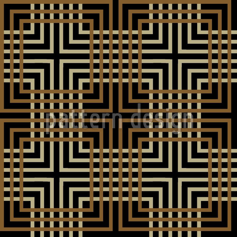 Designtapete Labyrinth