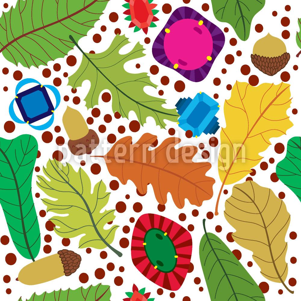 Designtapete Herbst Schätze
