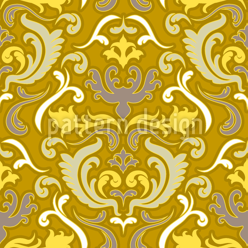 Designtapete Bon Apart Gold