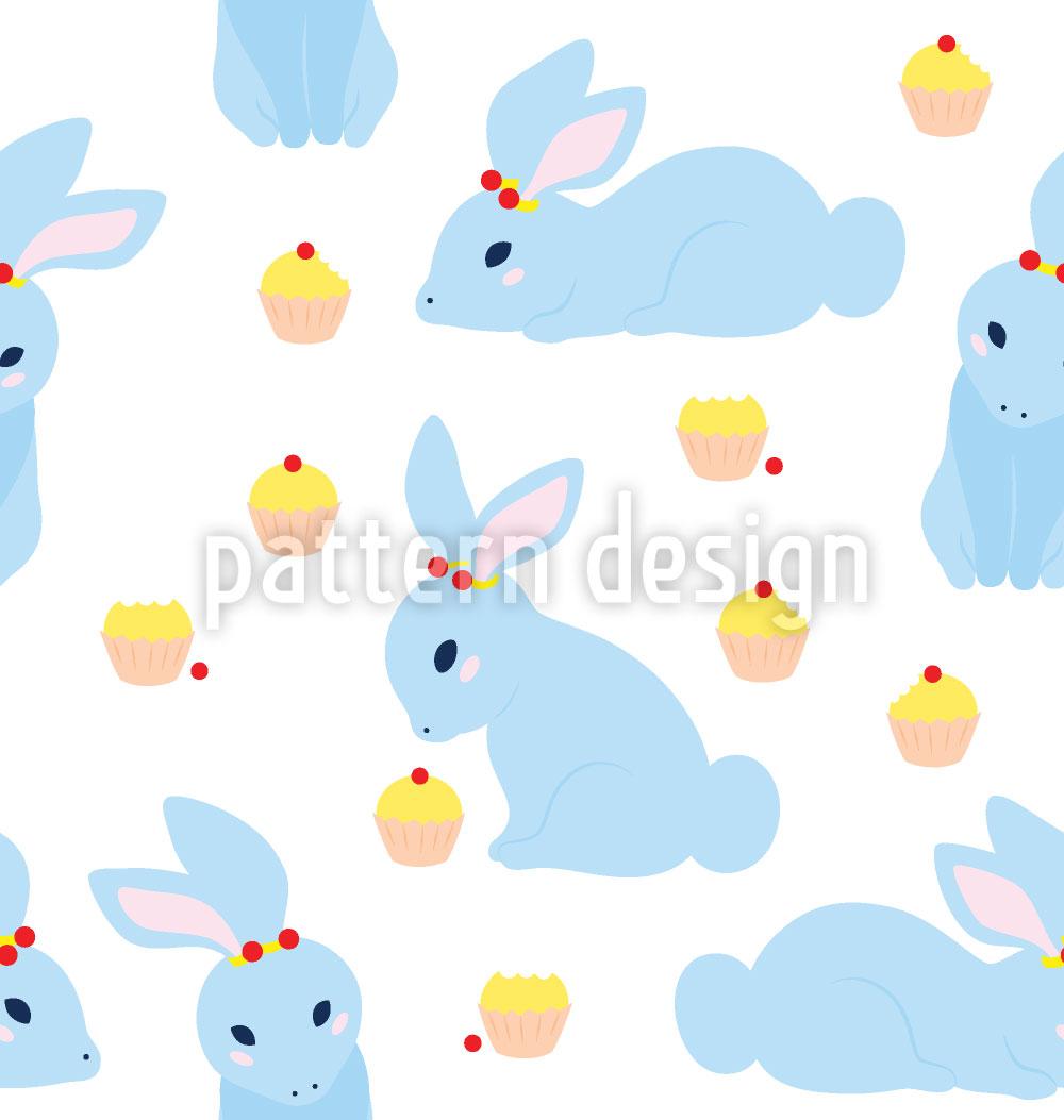 Designtapete Benny Bunny