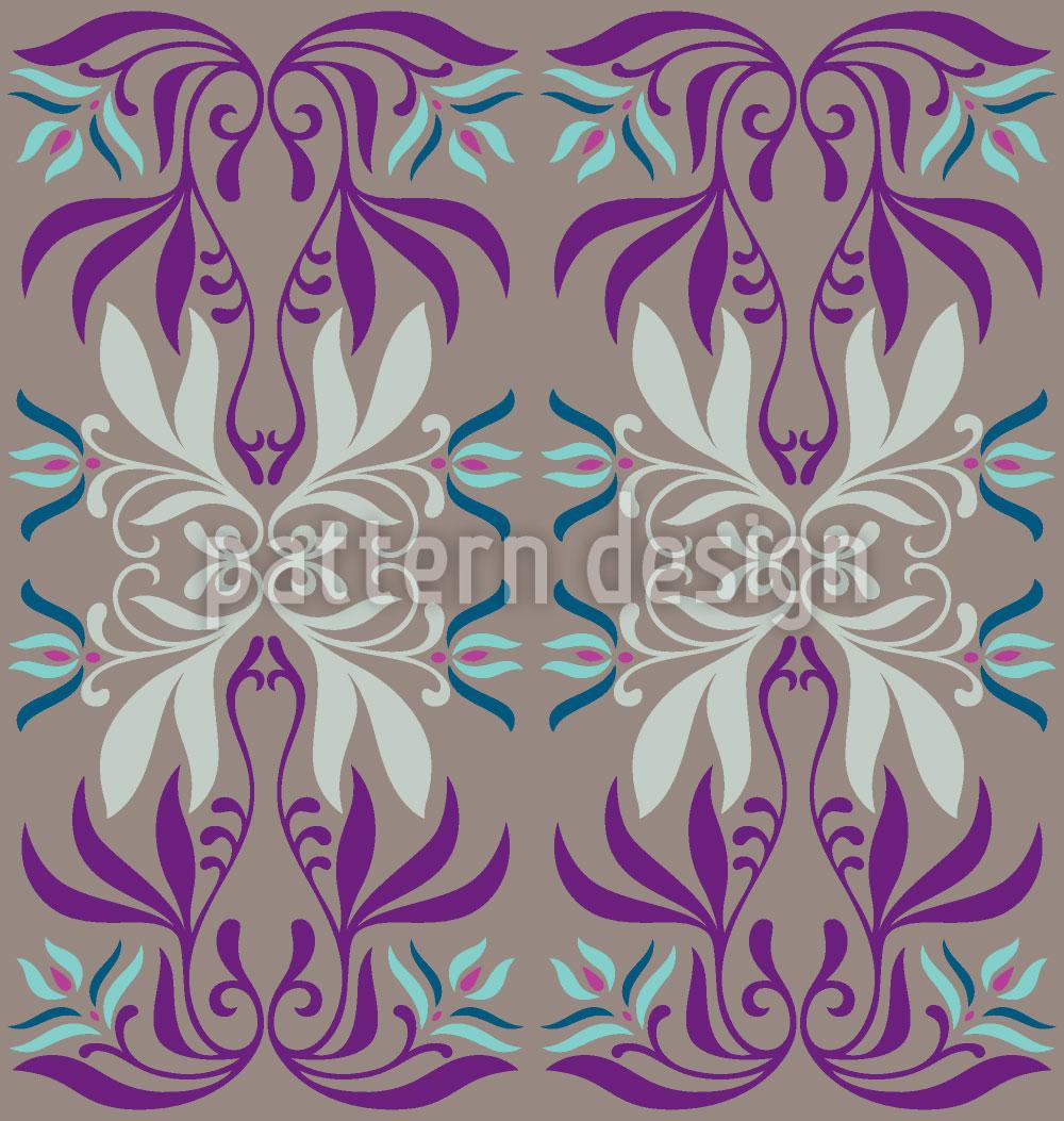 Designtapete Mystic Flora