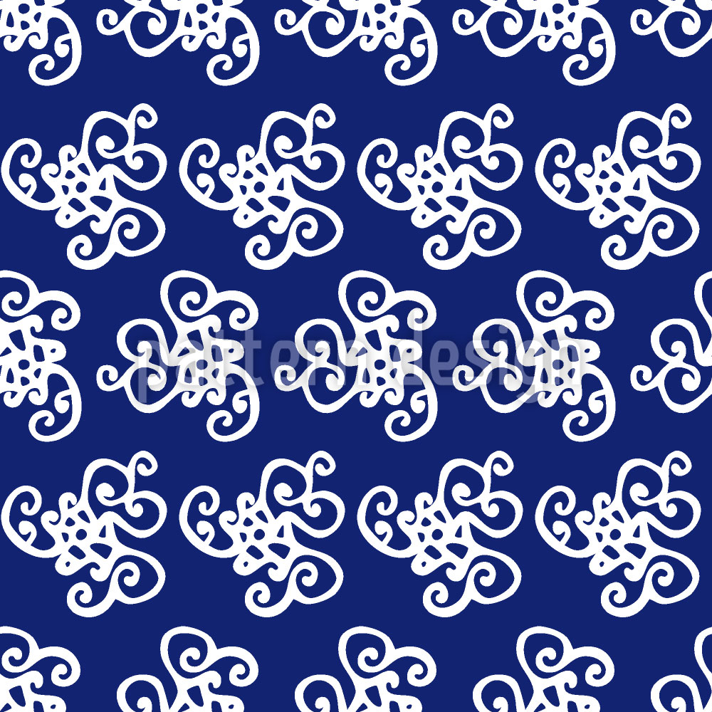 Designtapete Oktopuss Träume