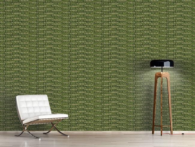 Designtapete Reptilio Grün