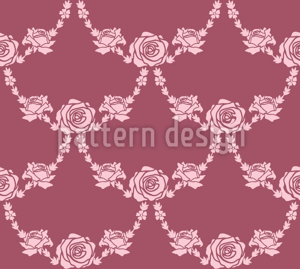 Designtapete Englische Rosen