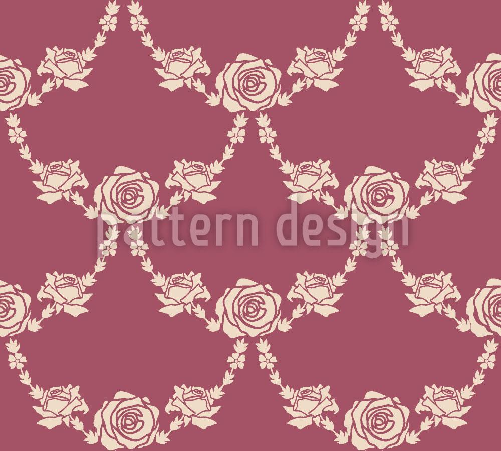 Designtapete Englische Rosen Natur