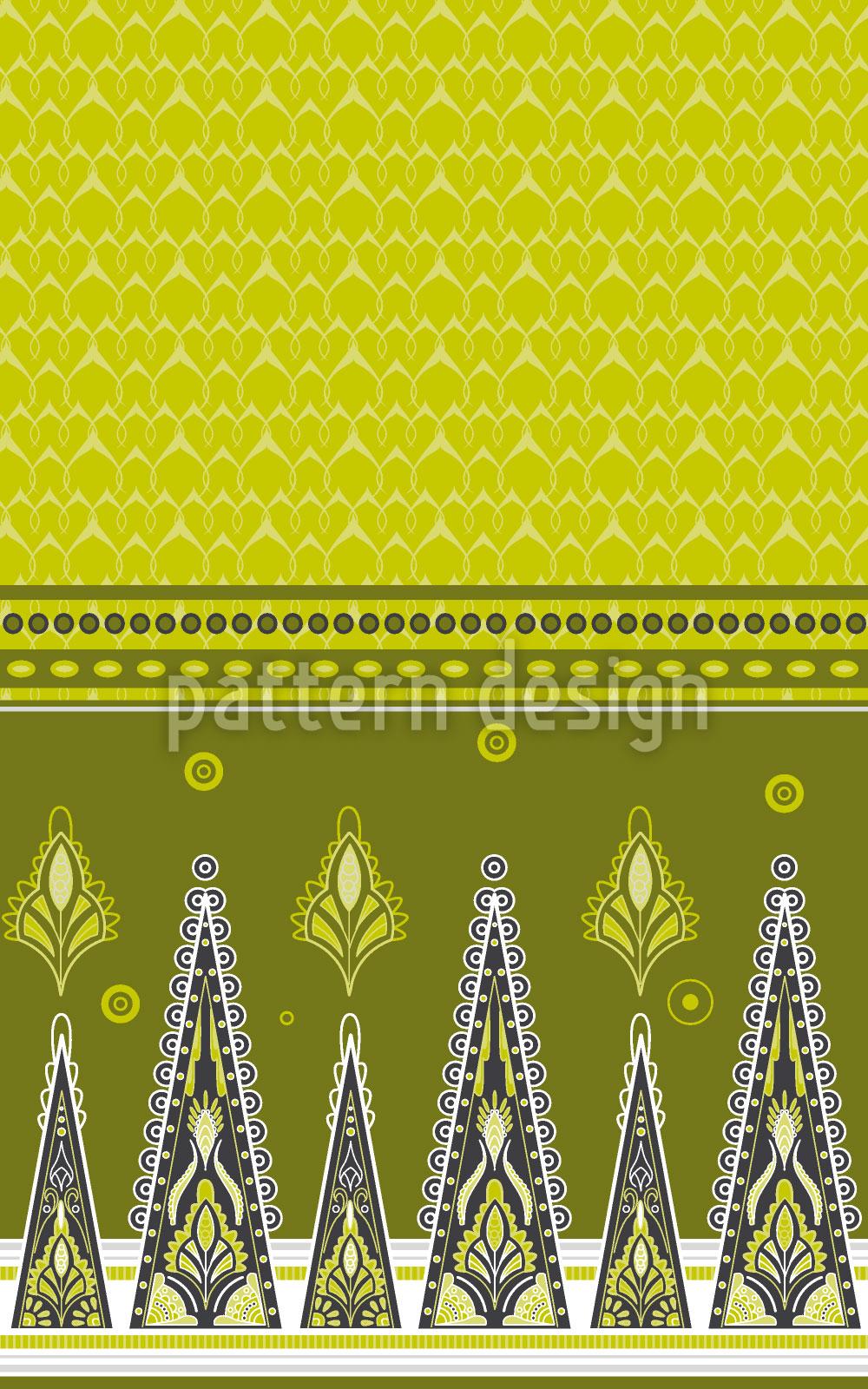 Designtapete Sari Im Frühling