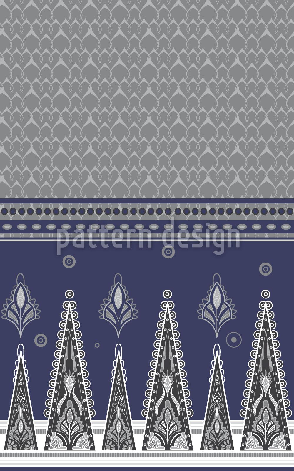 Designtapete Sari Im Winter