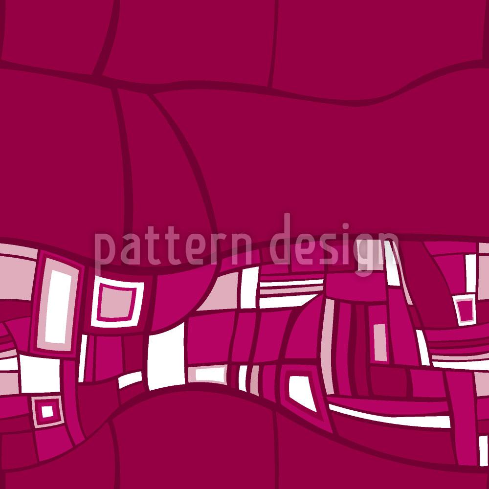 Designtapete Stilismo Pink