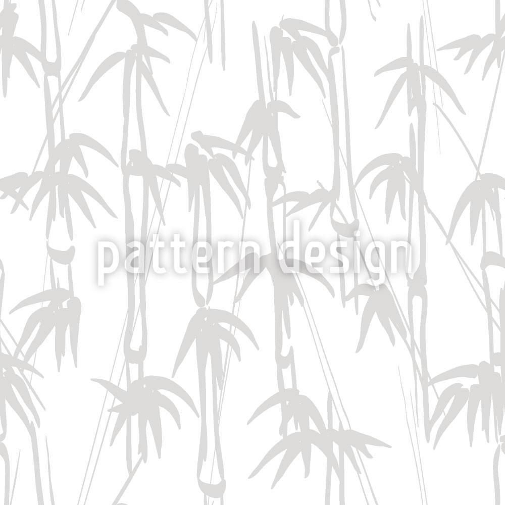 Designtapete Bambus
