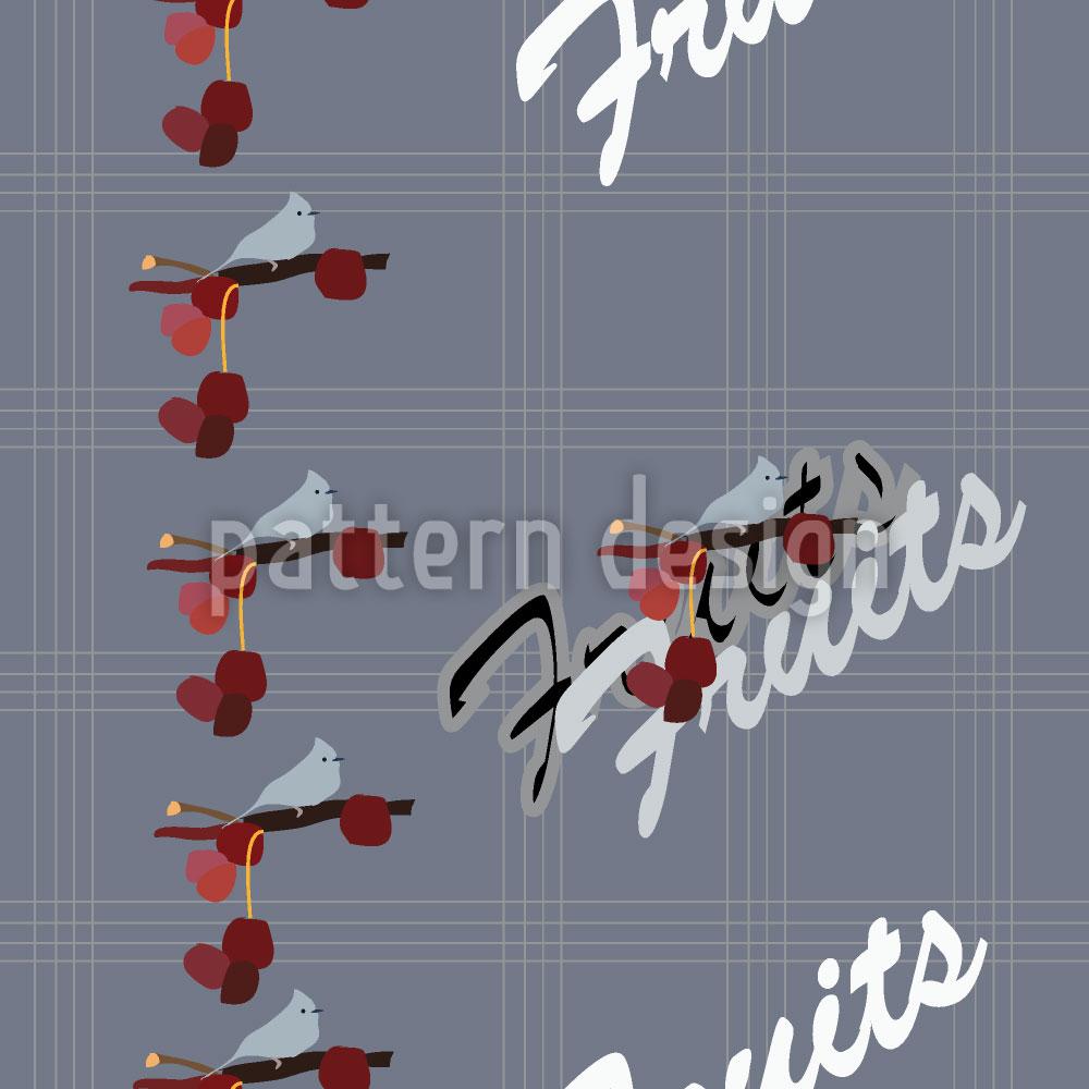 Designtapete Früchte