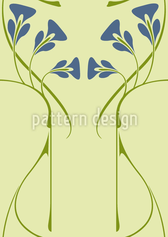 Designtapete Pelleas Et Melisande Grün