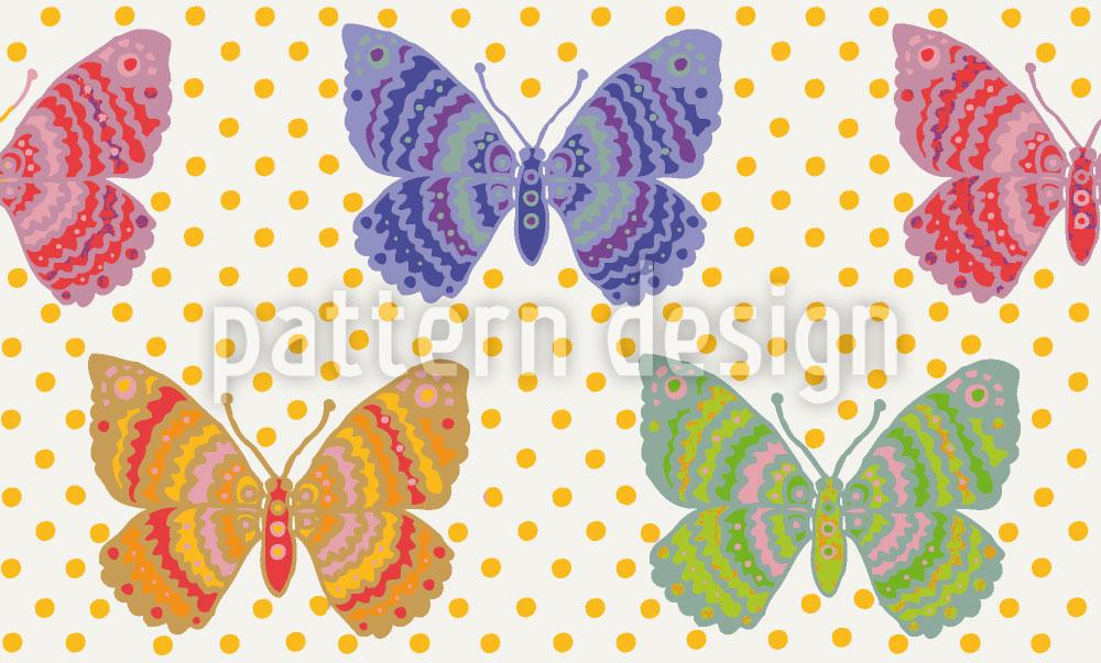 Designtapete Schmetterlingsfantasie