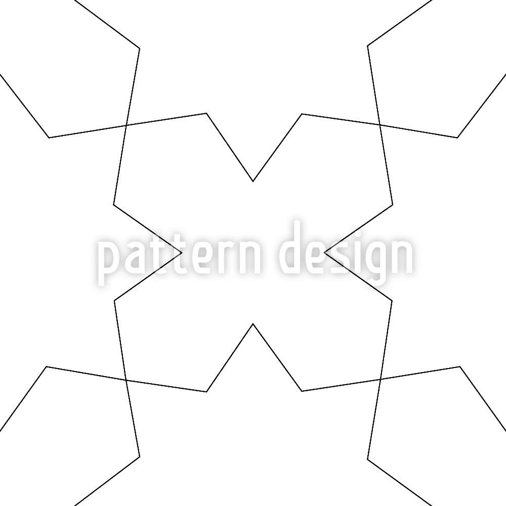 Designtapete Oblivion Weiss
