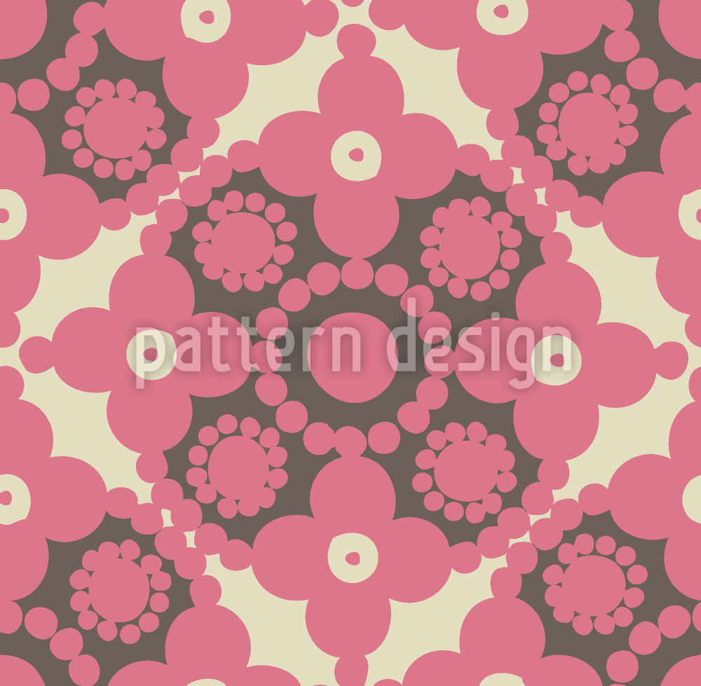 Designtapete Pink Pomp