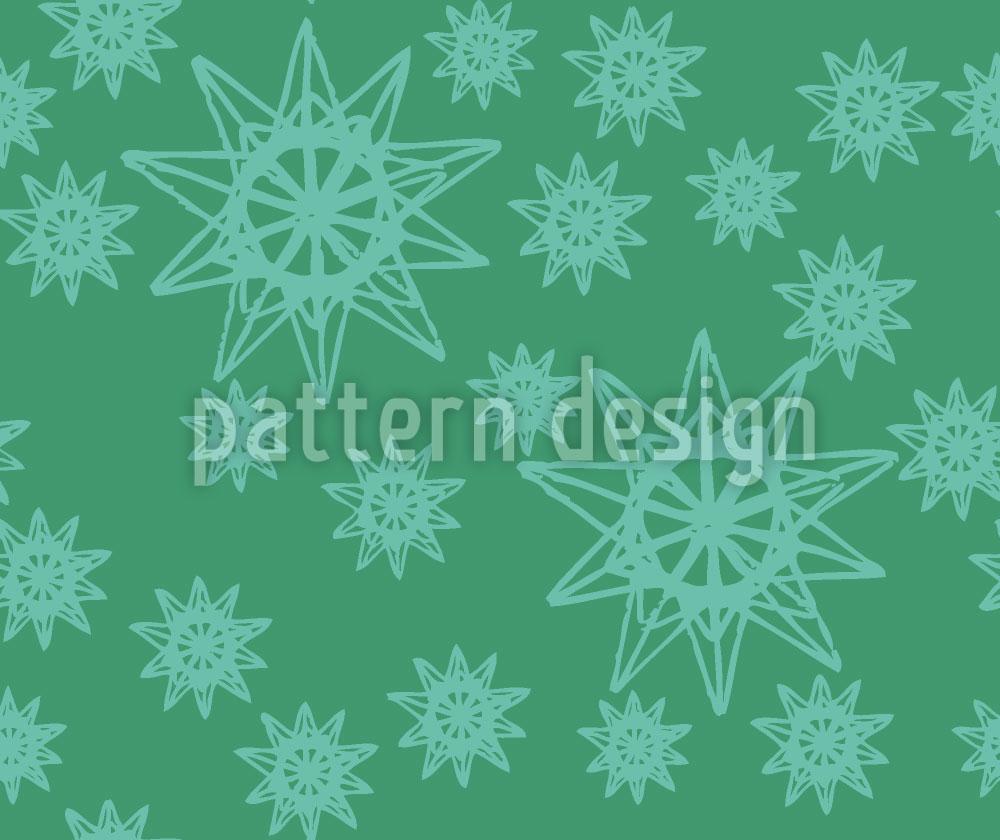 Designtapete Stars On Wire