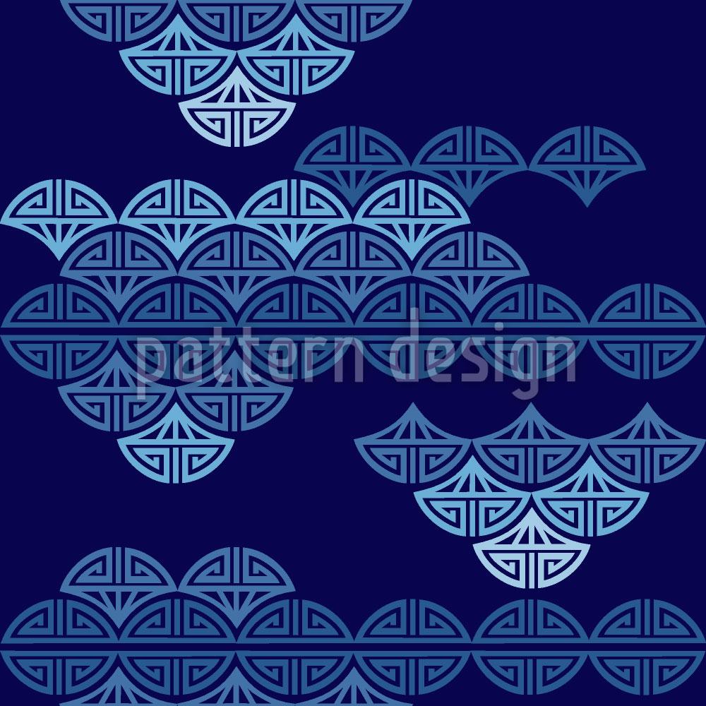 Designtapete Wolkenmeer