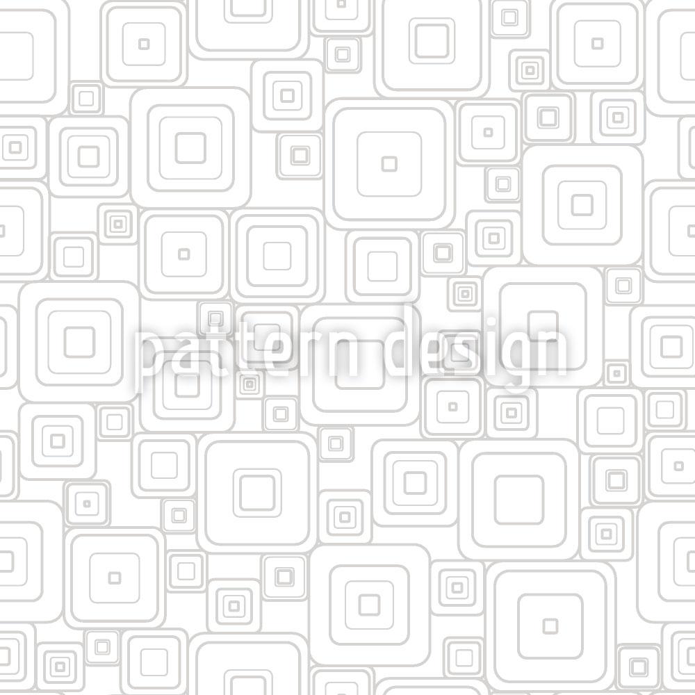Designtapete Graue Quadrate