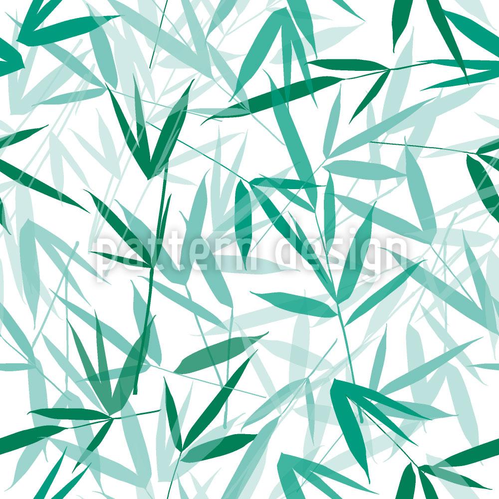 Designtapete Bamboori Mint