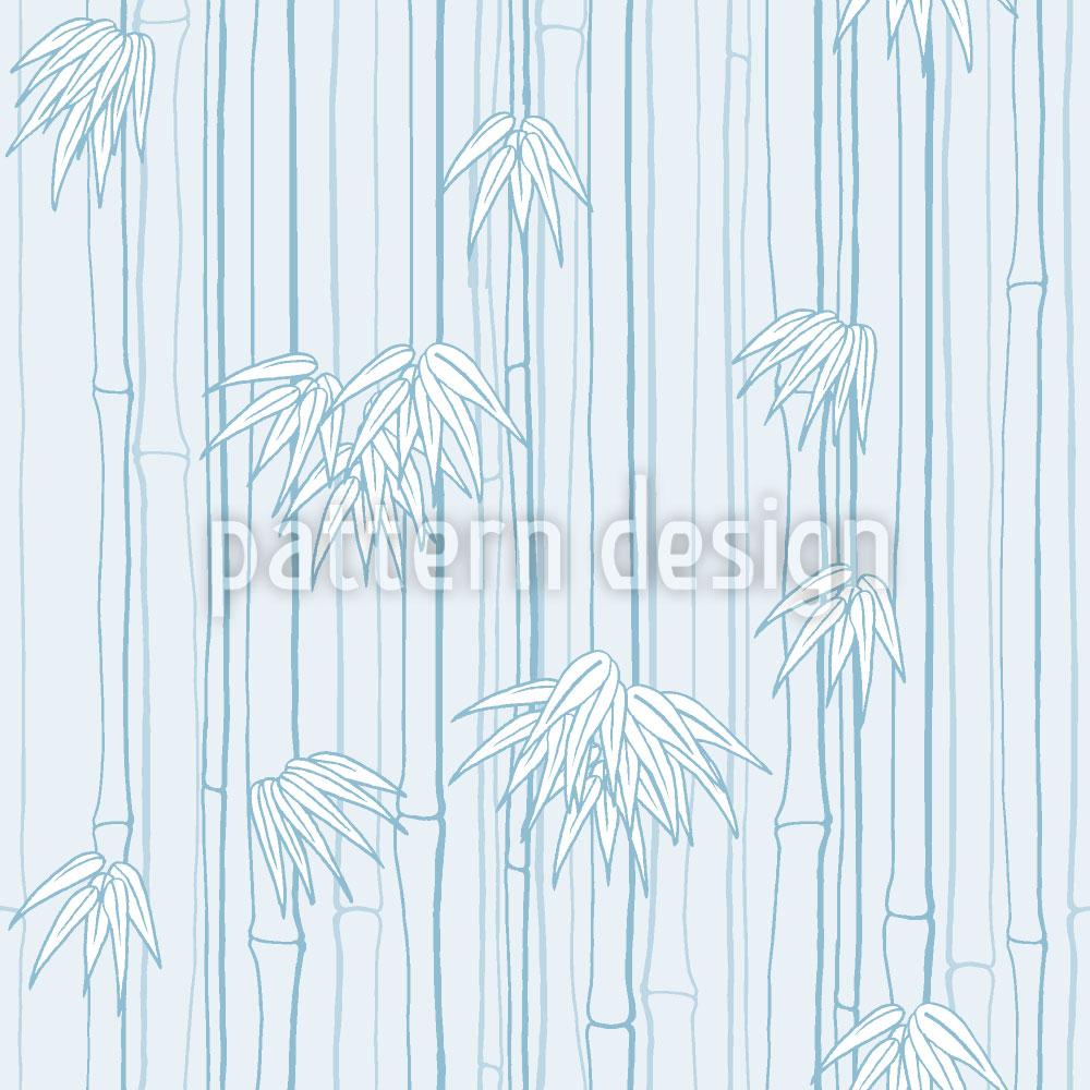 Designtapete Bamboolino Blau